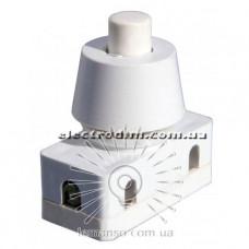 PBS-18 Кнопка Lemanso LSW10 белая для лампы
