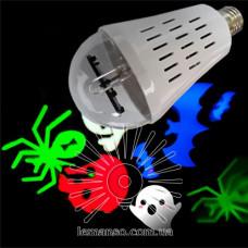 LM395 Лампа Lemanso св-ая  Хэллоуин  4W  (RGB+White)