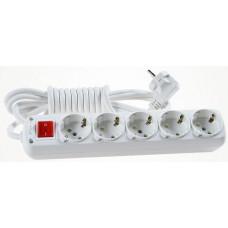 Удлинитель электрический  Viko 90108420 5гн.2м+кн с/з
