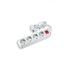 Удлинитель электрический  Viko 90108023 4гн.3м+кн с/з