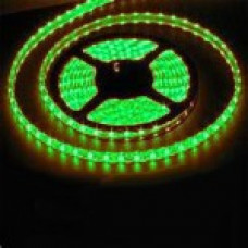 Светодиодная лента Smd 3528, 60 Led/м, 4.8W/м, 12V, IP33, свет зеленый