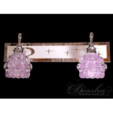 Подсветка для зеркала на 2 лампы