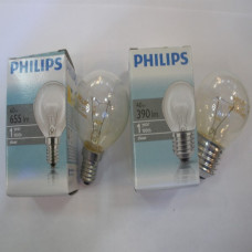 Лампочка Philips шар прозрачная